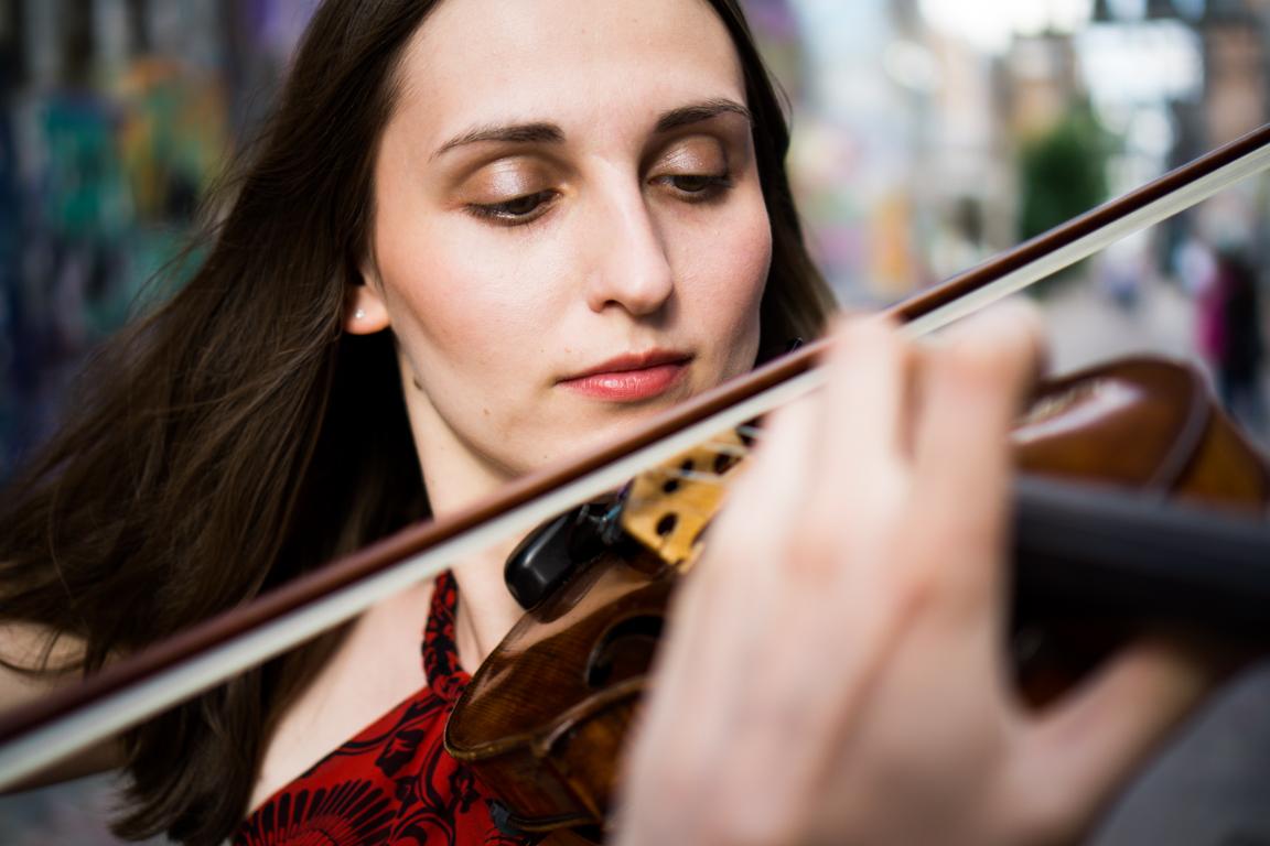 Dr. Katie Smirnova , Violin Artistic Director D.M.A Stony Brook University (Emerson String Quartet)