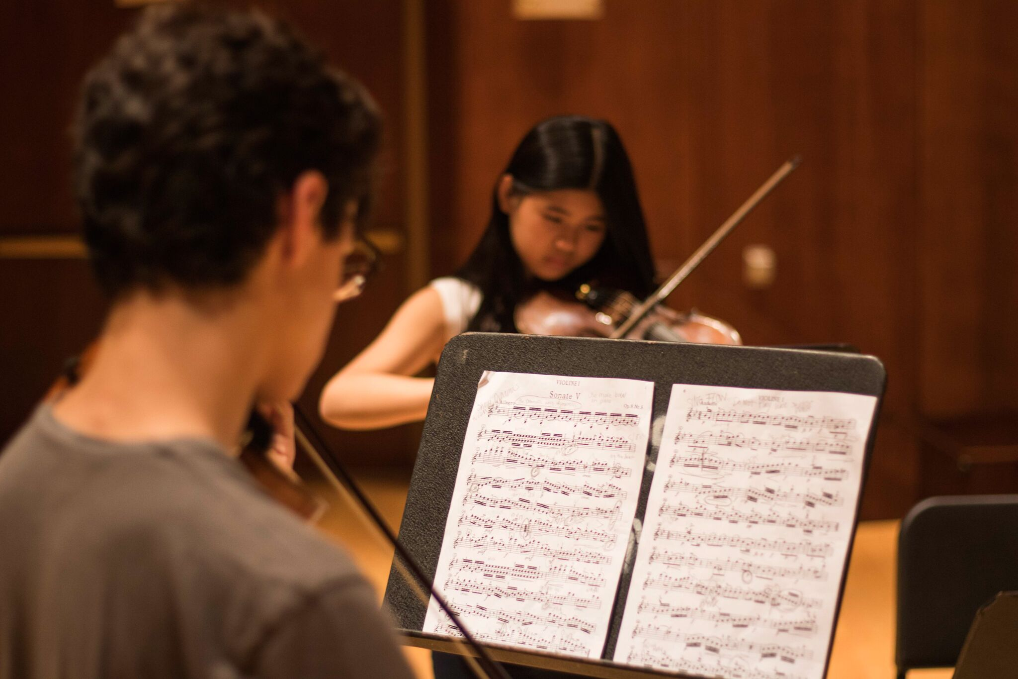 - The Summer Academy is a rigorous 3-week program with a structured environment for students ages 12 through college studying violin, viola, cello, piano, and composition* at intermediate-advanced levels.