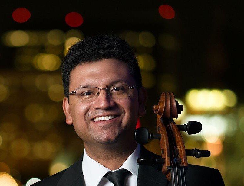 Dr. Ismar Gomes , Cello Virginia Symphony Gettysburg College