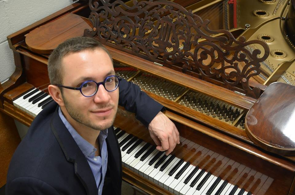 Dr. Matthieu Cognet , Piano Elegy Artist Management The Juilliard School