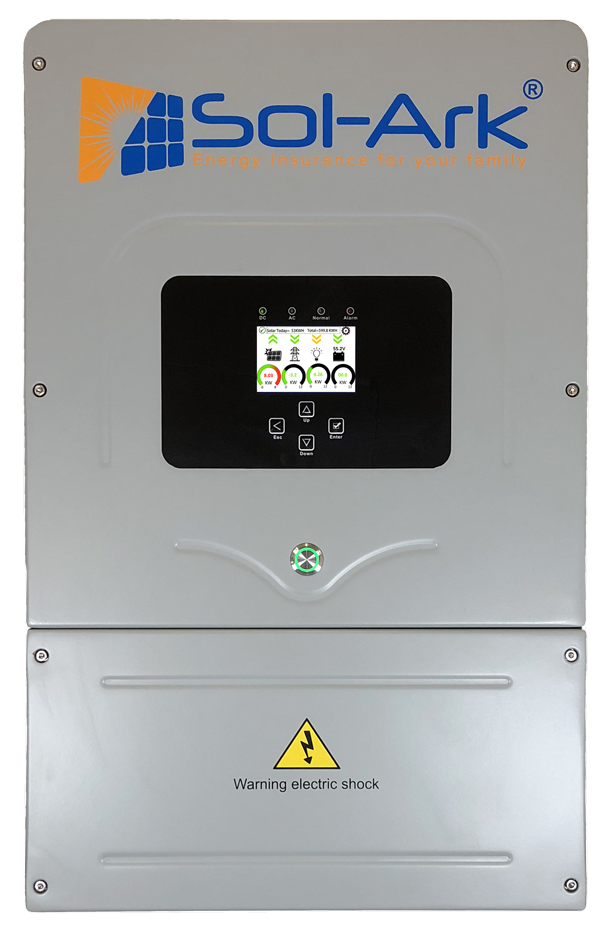 The most cost effective & efficient inverter on the market. Provides independent home microgrid with direct car charging on electric vehicles available. -