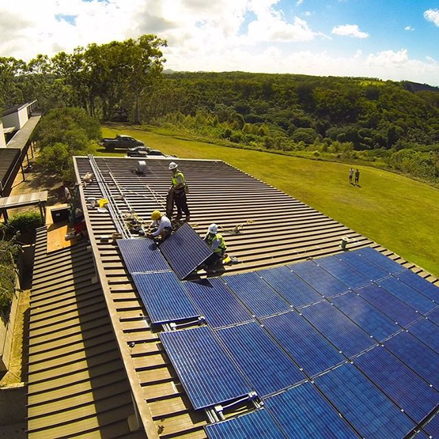Go off-grid with Solar Plus.  The modern solar installation is taking away the need to be grid-tied. #renewableenergy #hawaii #kauai