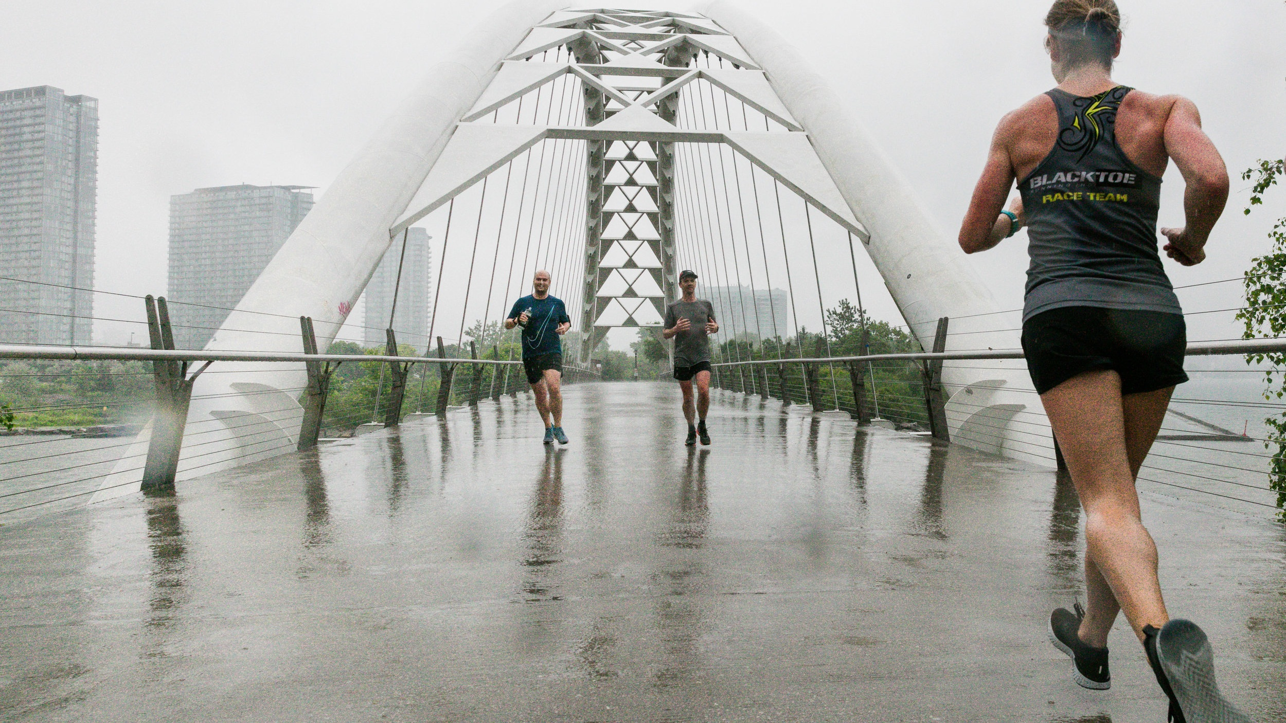 Rainy day grit runs are good for the soul.