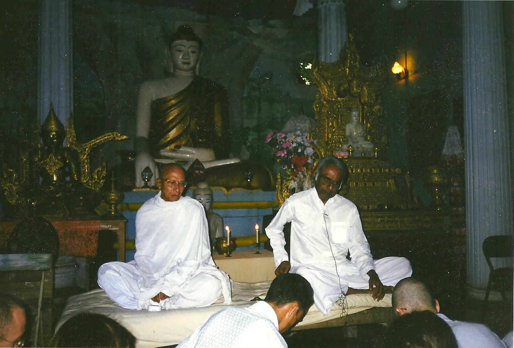 Anagarika Munindra-ji, Godwin Samararatne, Bodh Gaya India