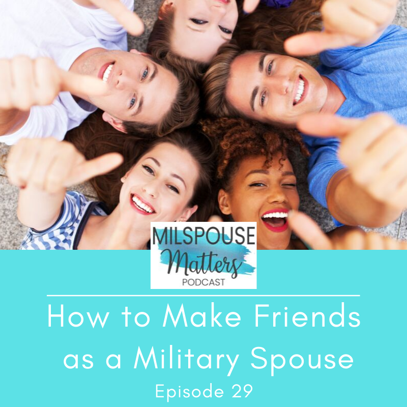 How to Make Friends as a Military Spouse