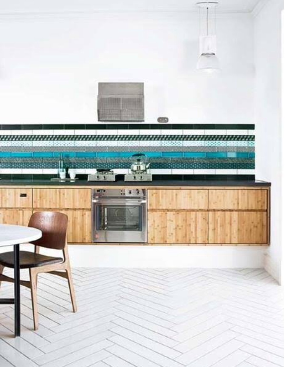 splash back heaven - Only limited by your imagination,use different tiles and textures to create this look