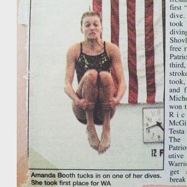 I thought we could all use a laugh these days... #tbt to me #diving 💪
