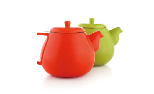 Belly Teapot with Strainer