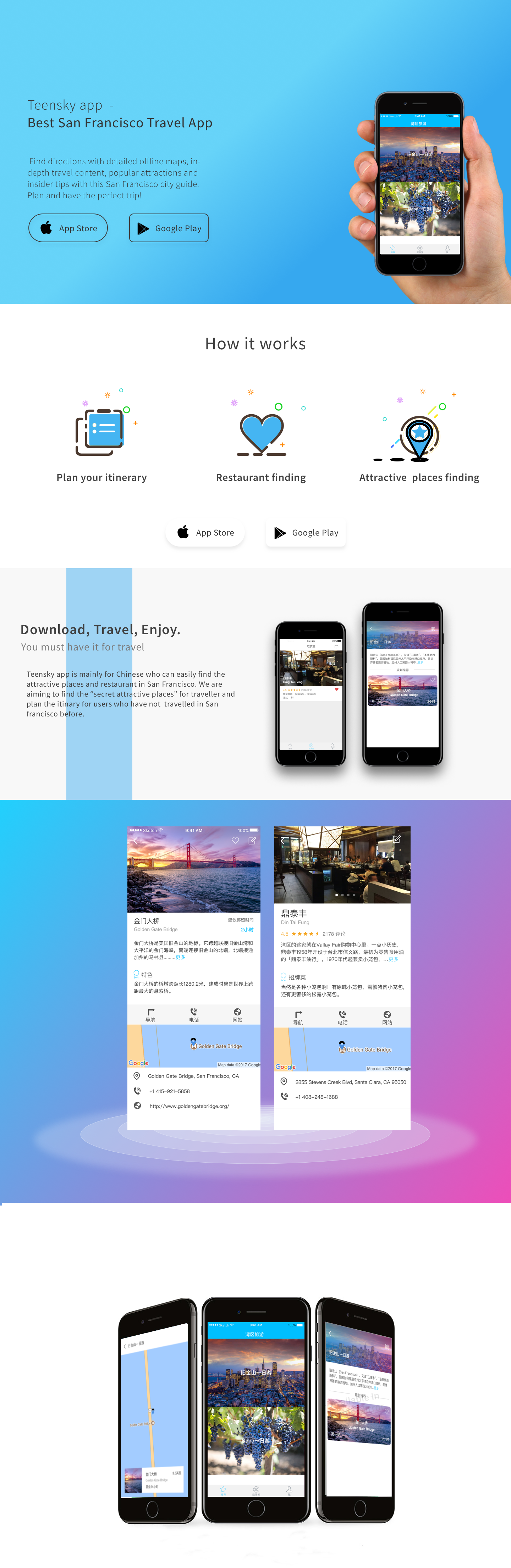 mobile app landing page by andrei dulcu.png