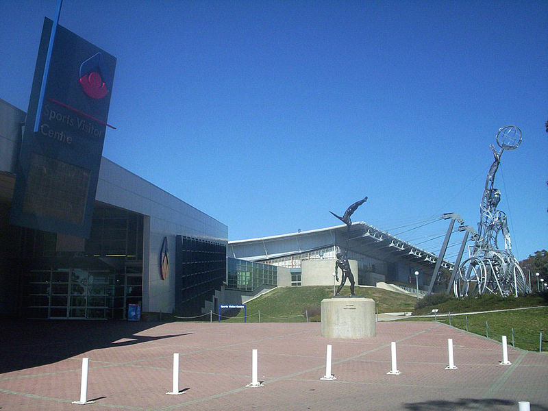 Olympic sculptures, AIS Canberra