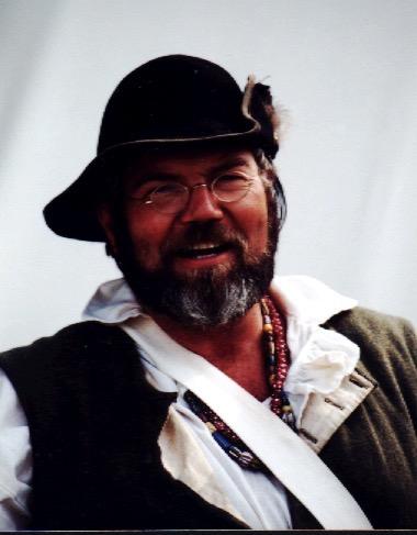 Gary Johnson as an Eastern Woodsman