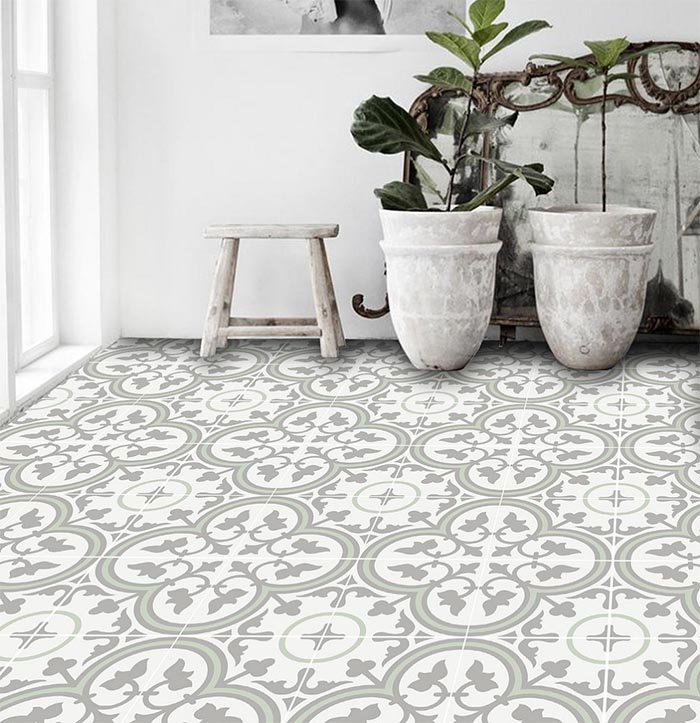 Dakota Tiles - STYLE TILE: Patterned Floor Tiles