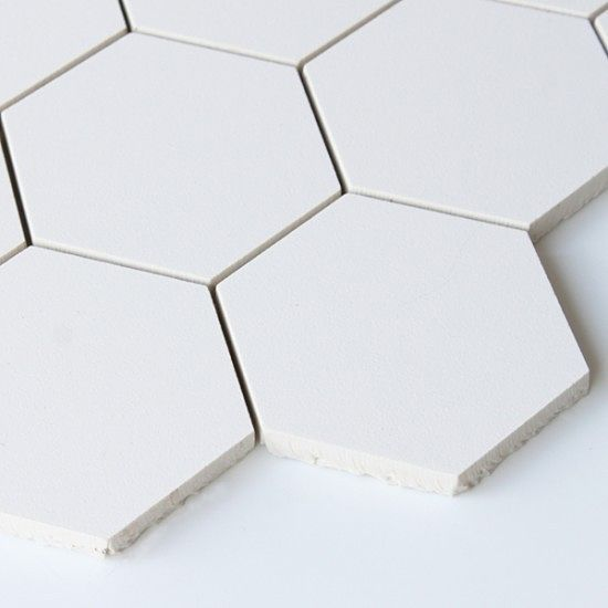 White Hexagon