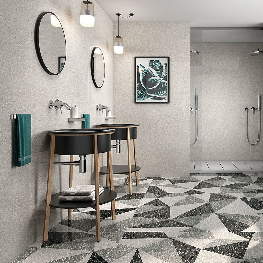 Dakota Tiles: Wanaka Smoke Matt 600x600