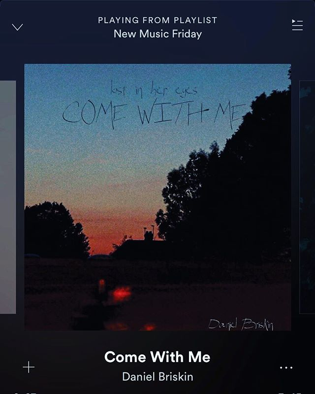 Thanks @spotify #newmusicfriday for featuring Come with Me - a track I co-wrote, produced and mixed with the enormously talented @daniel_briskin - on this week's playlist. If you do just one thing today, give it a listen! Link in bio. #justthestart