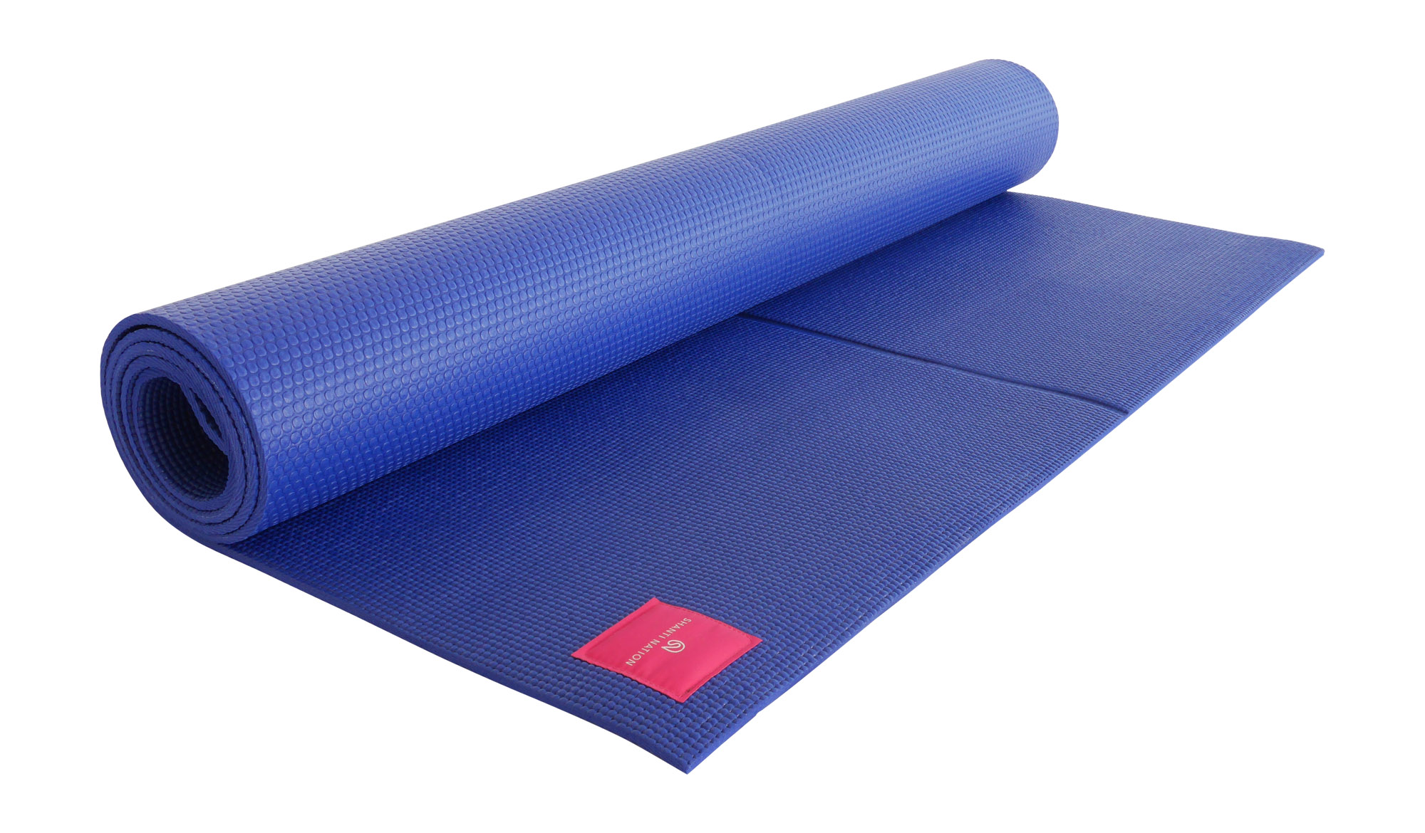 Unsere XXL-Yogamatte ist 100 cm breit und 200 cm lang - mehr Bewegungsfreiheit geht nicht.