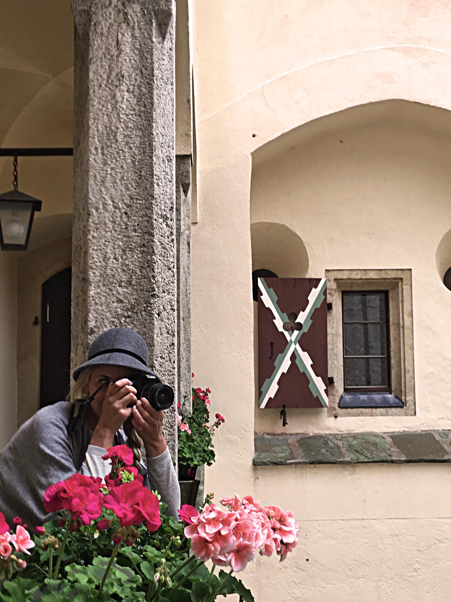 Innenhof Burg Mauterndorf