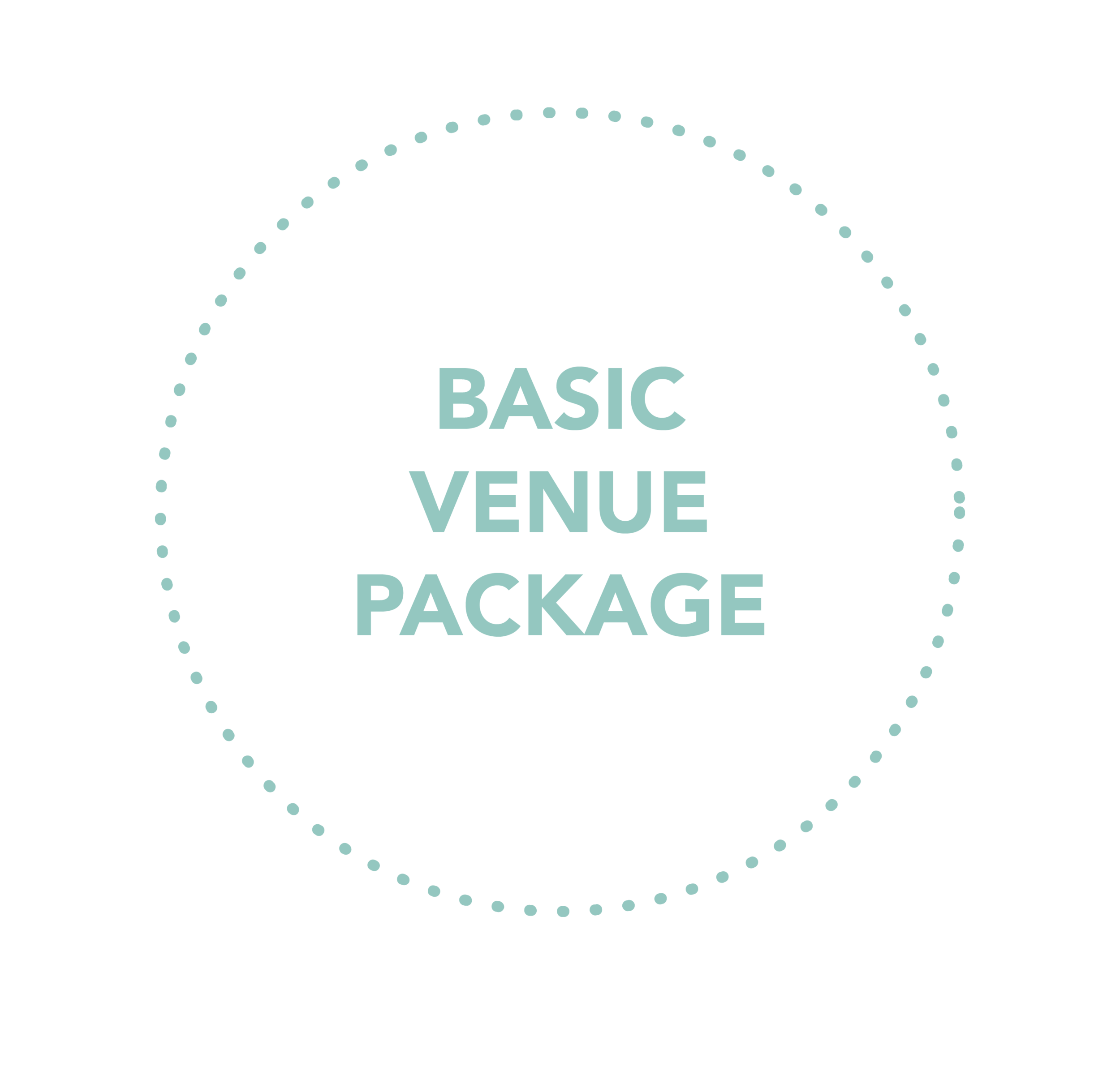 This package is a venue necessity and allows the bride to personalize her own vendors or include a mix of Chestnut Ridge Preferred Vendors.