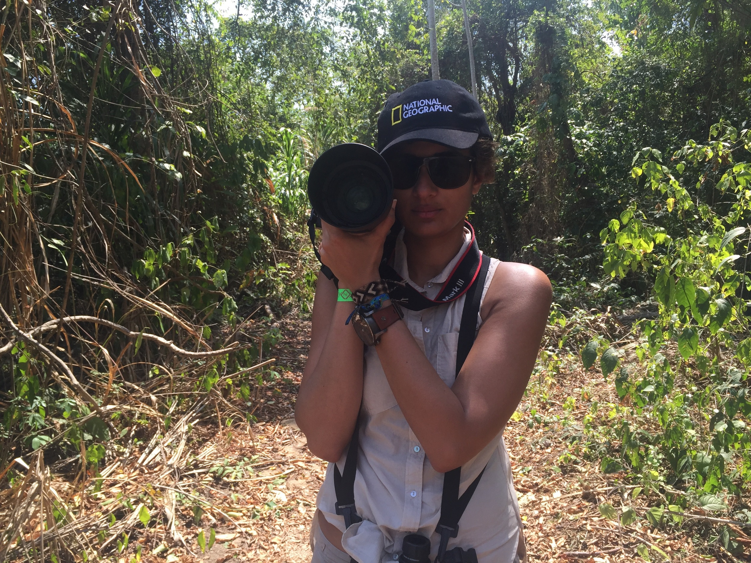 On expedition in Colombia with Audubon Society.