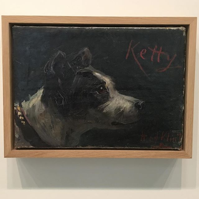 woof #hilmaafklint #dogsofinstagram #beforeinstagram #painting