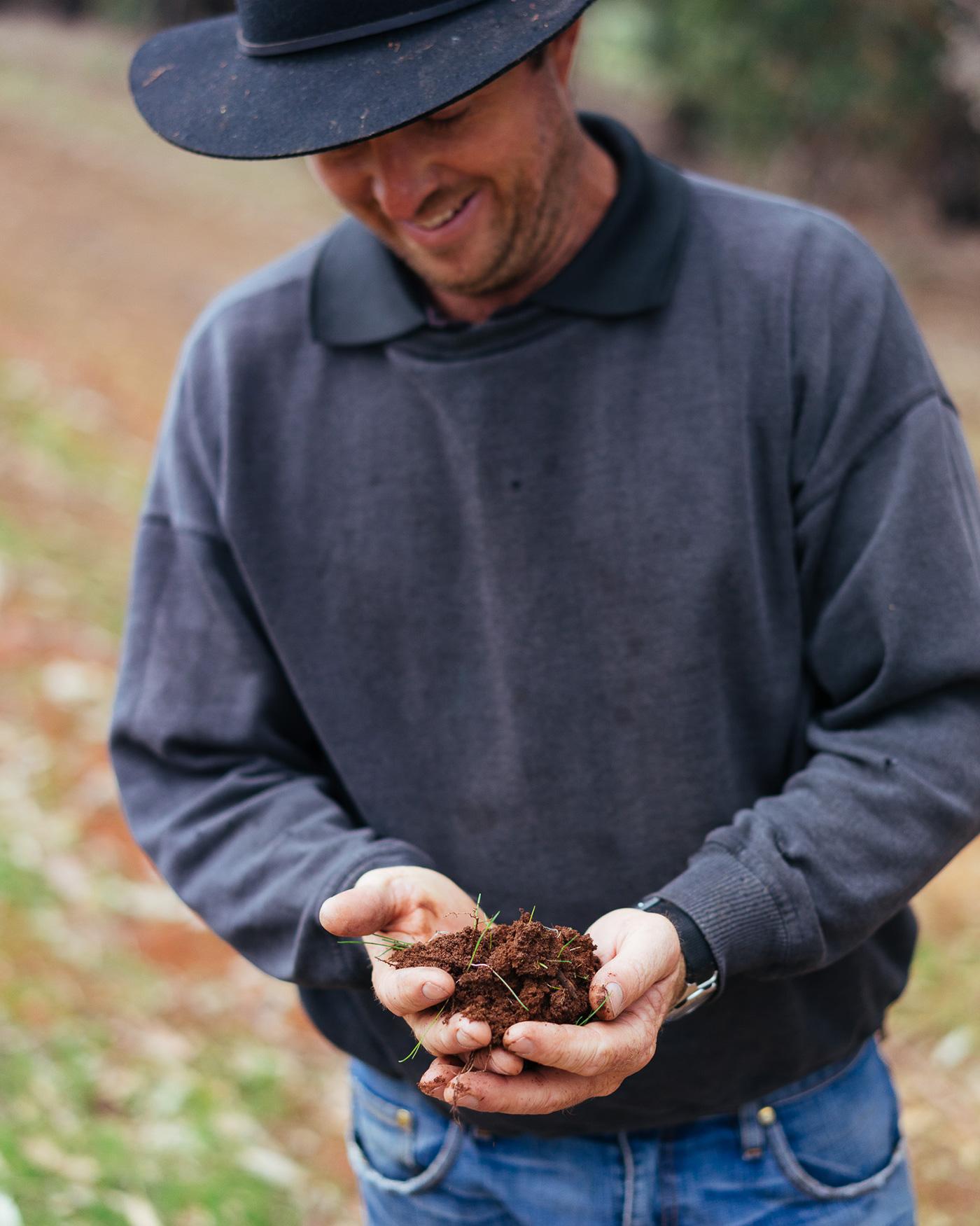 Ben McDonald soil Terroir vineyard Shiraz Margaret River Glenarty Road
