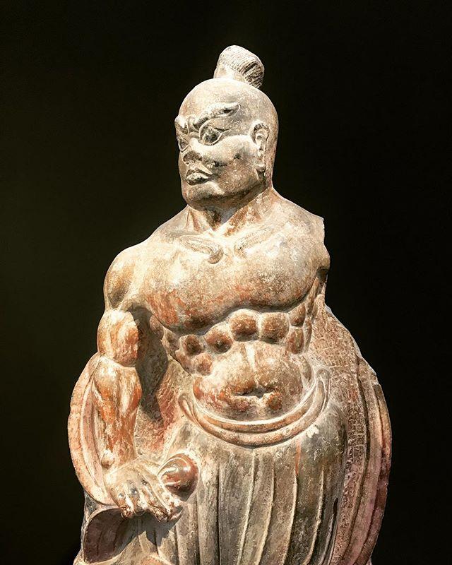 Dvarapala, Temple guardian, China, Qi dynasty (550-577) #dvarapala #qidynasty #china #warrior