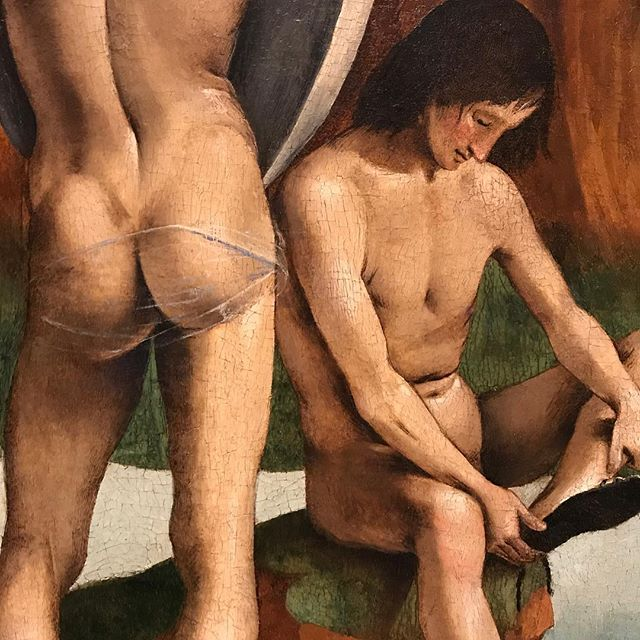 Homosexuality in art: Luca Signorelli, 1490 #lucasignoreli #classical painting #renaissance #homsexualityinart