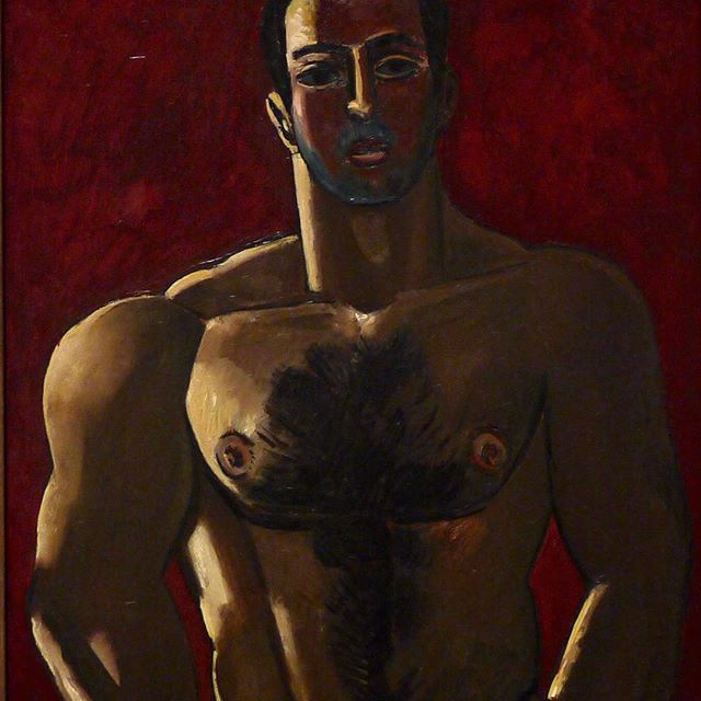 Mardsen Hartley, Madawaska Acadian light-heavy, 1940 #homosexualityinart #newyorkavantgarde #291gallery #modernism #americanart