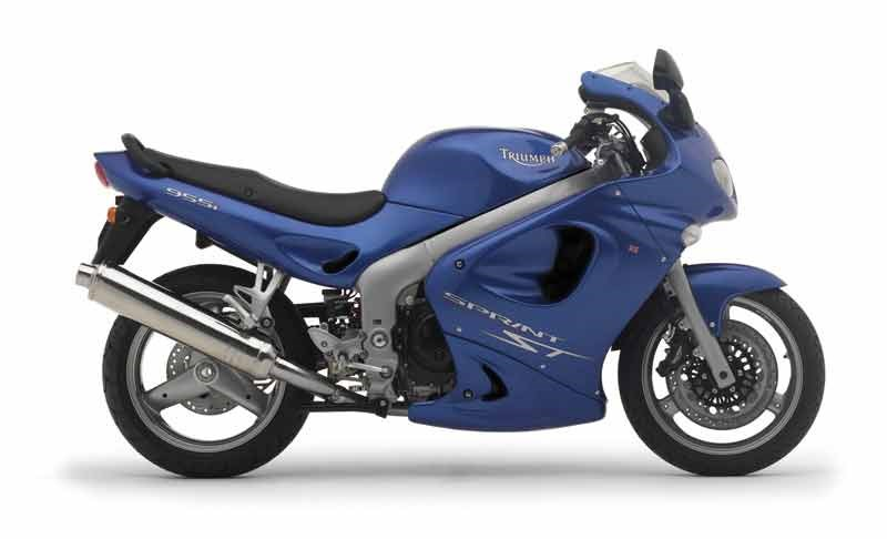 Triumph Sprint 955 ST 1998 - 2004 - Donor bike for the newest CRK kit.