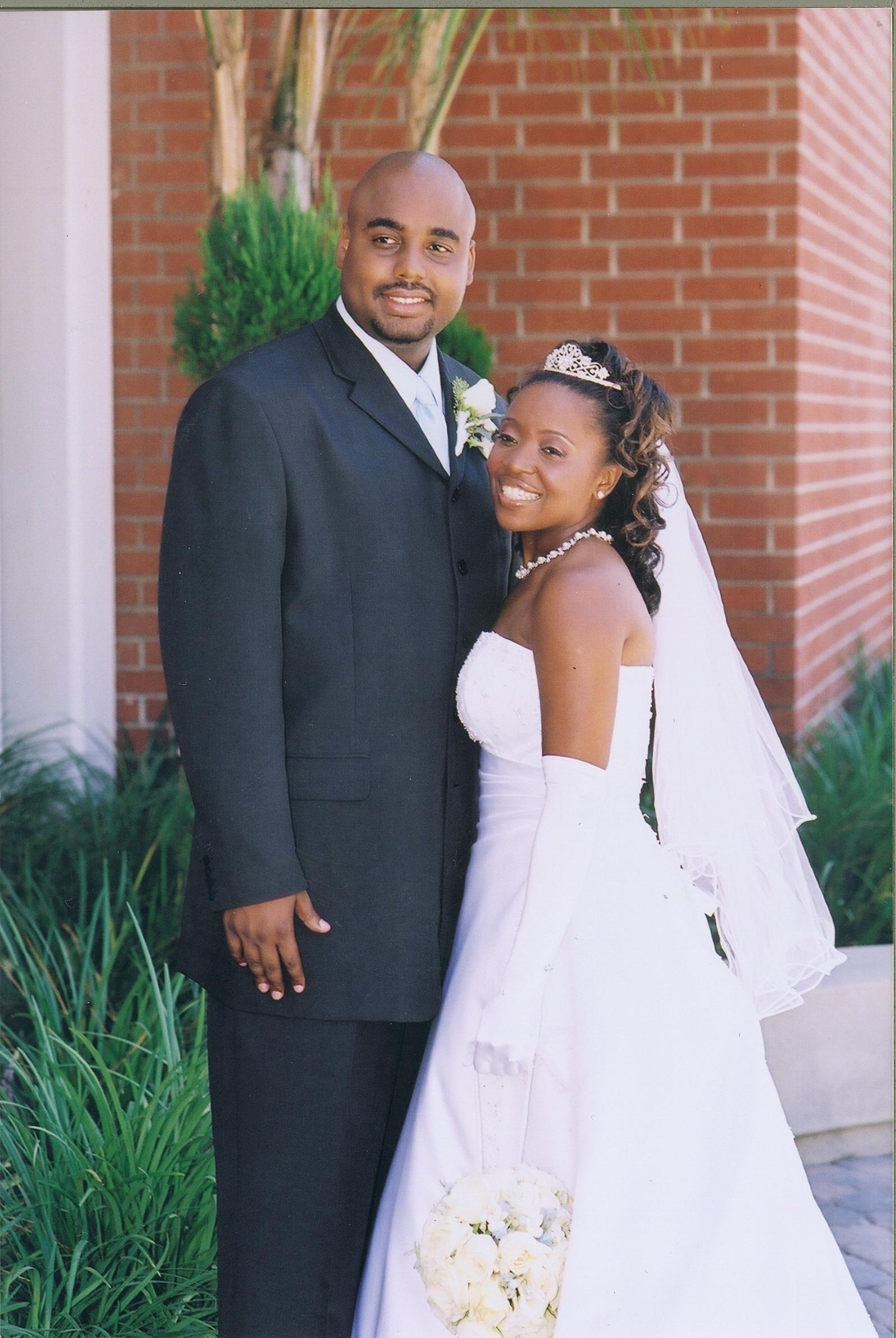 McGlothin wedding August 16, 2003