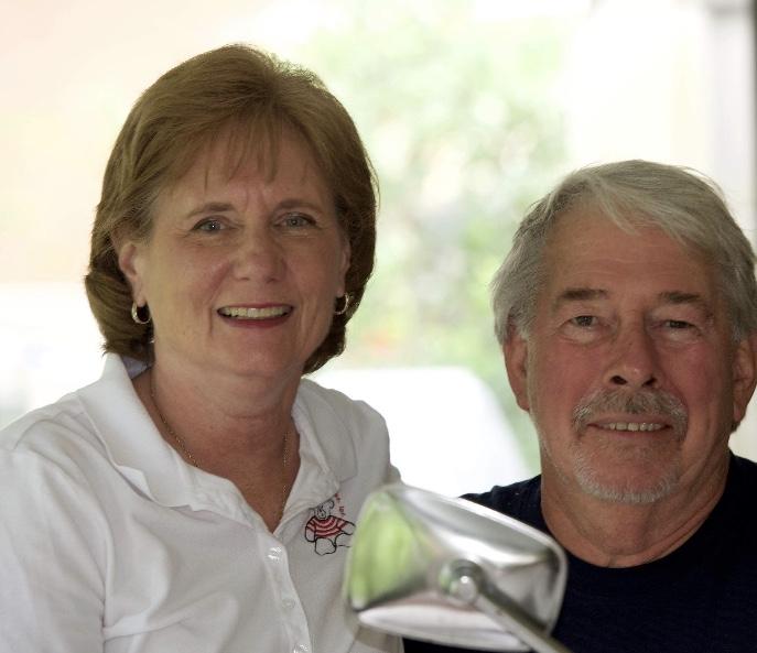 Catherine Latimer President and husband Ken