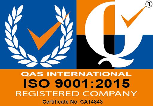 ISO 9001:2015 Accredited company