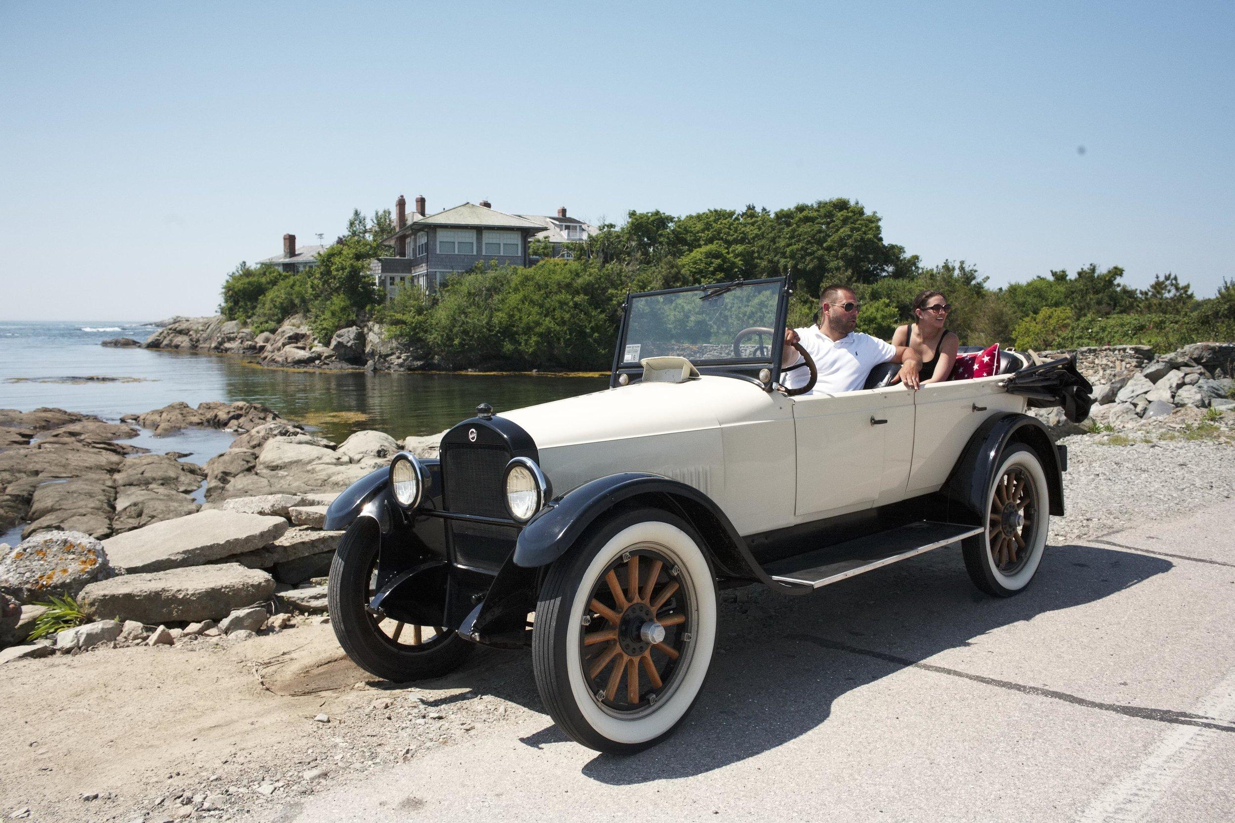 Newport RI Classic Car Cruise