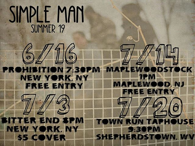 Sunday! 7:30pm @prohibitionnyc FREE show! 🚨🚨🚨FREE SHOW🚨🚨🚨