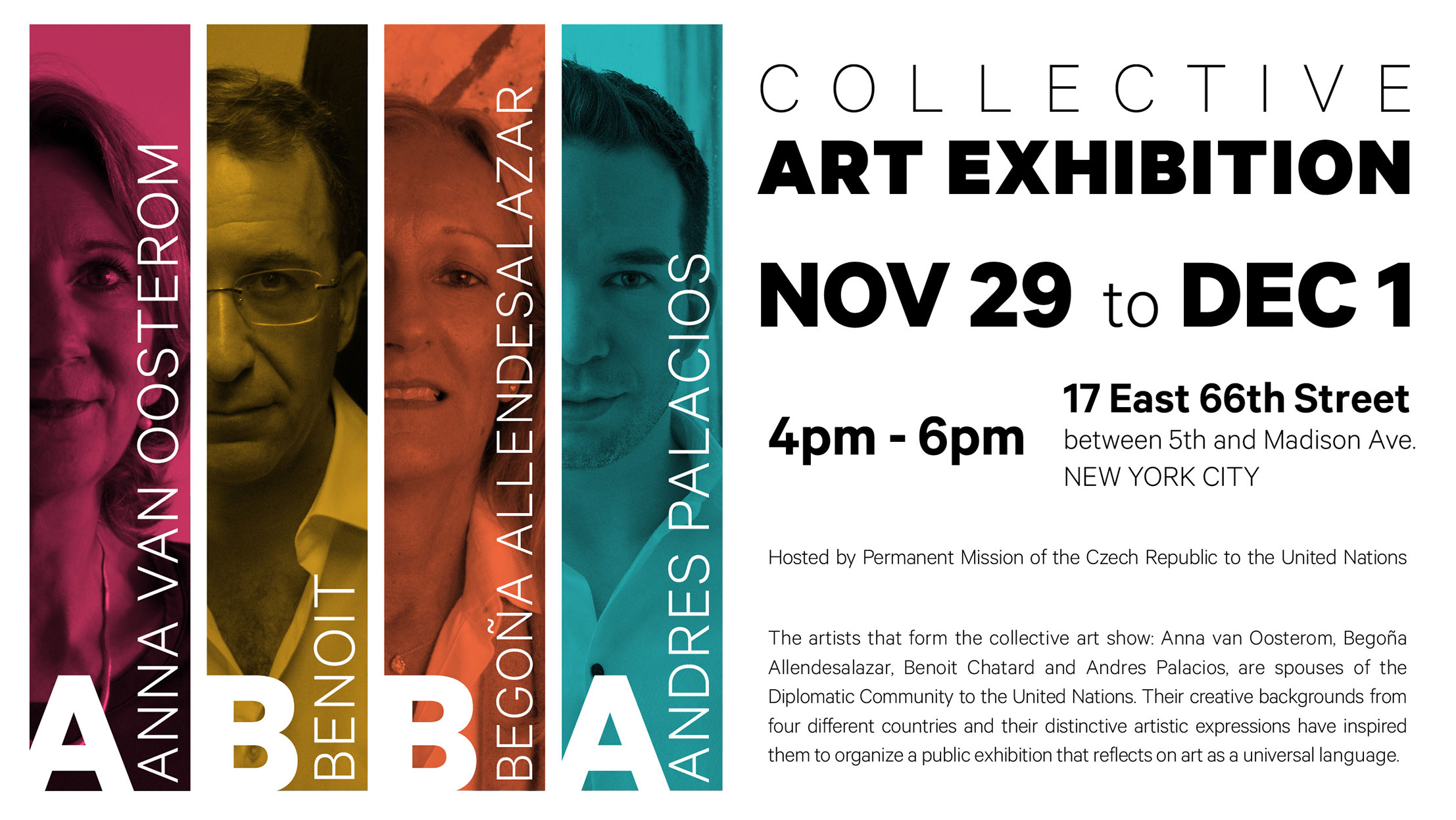 Andres Palacios - Collective Art Exhibit