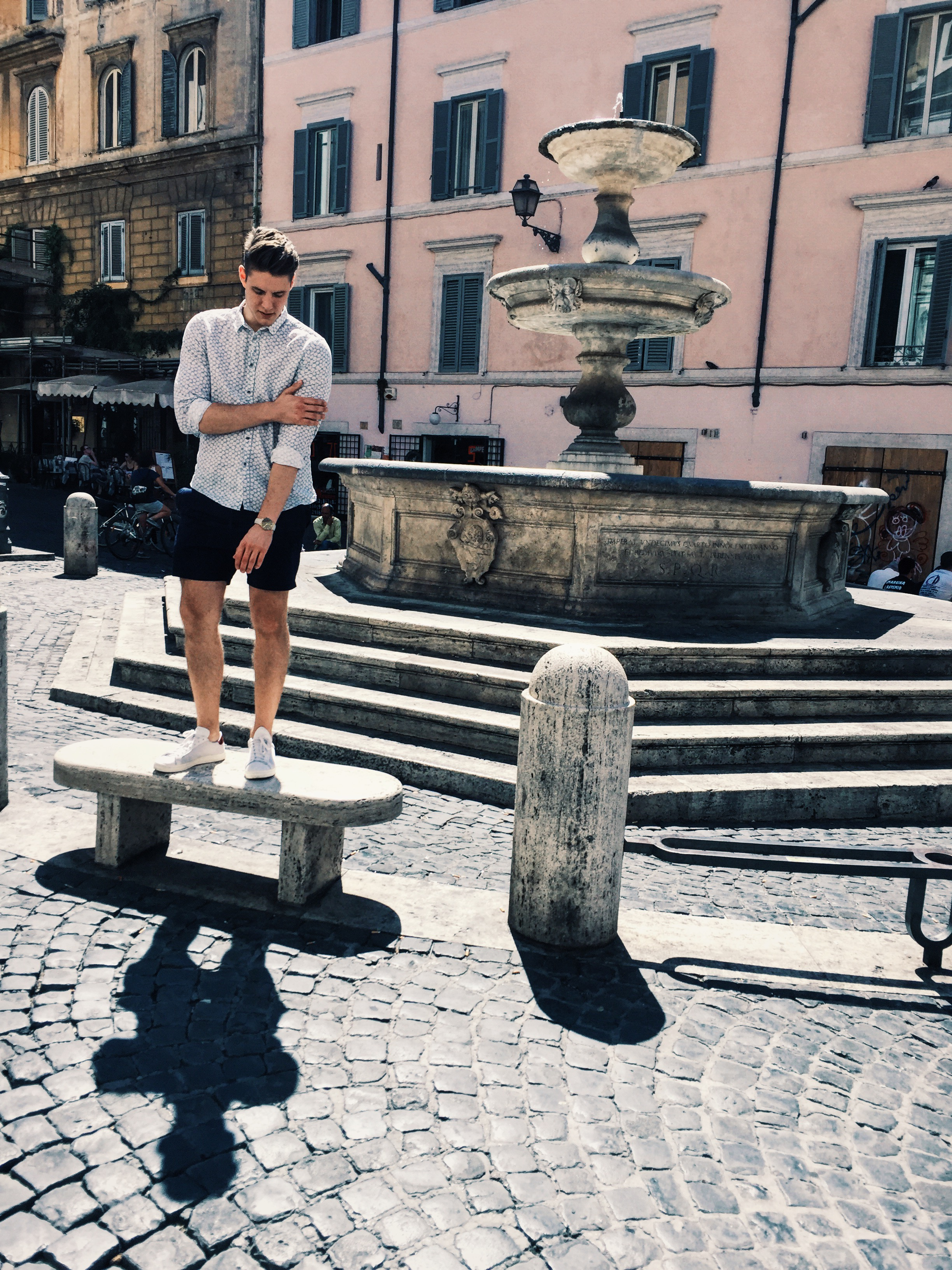 Enjoying Rome with my Andersson & Young