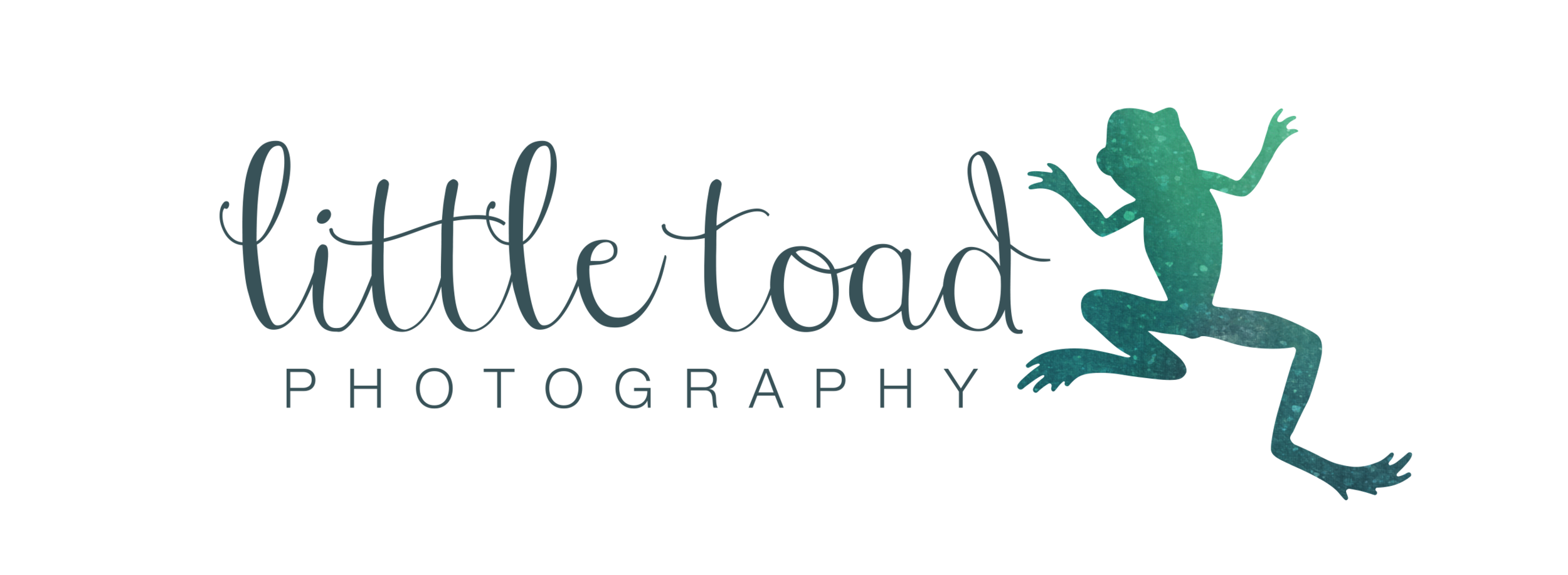 Little Toad photography logo. Natural light portrait photography based in Marple, Cheshire run by Aurelie Kennedy.