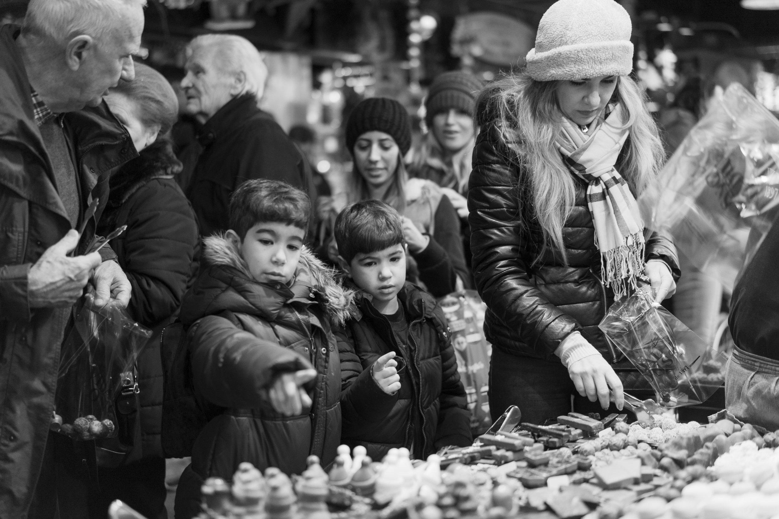 A must visit to the La Boqueira market