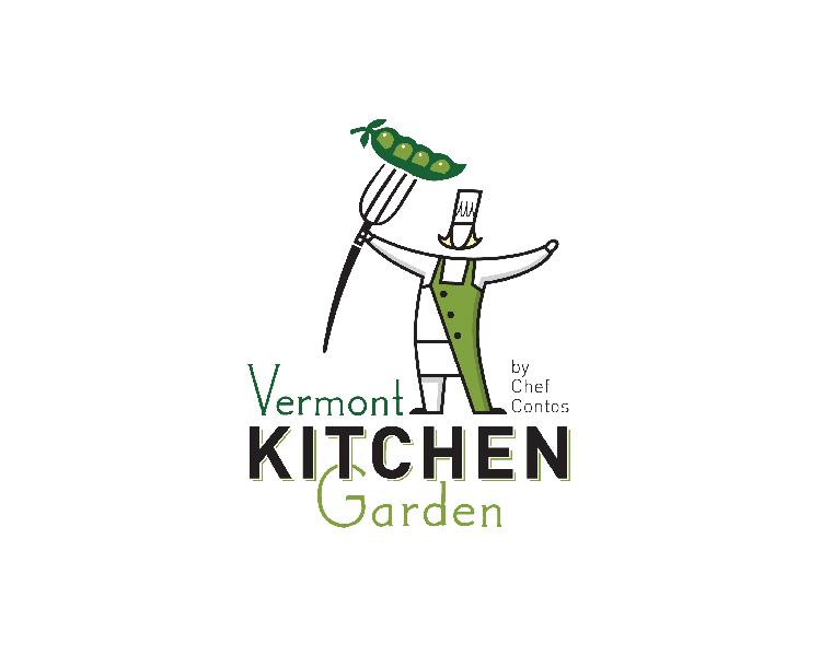 Vermont Kitchen Garden Identity for Chef Courtney Contos