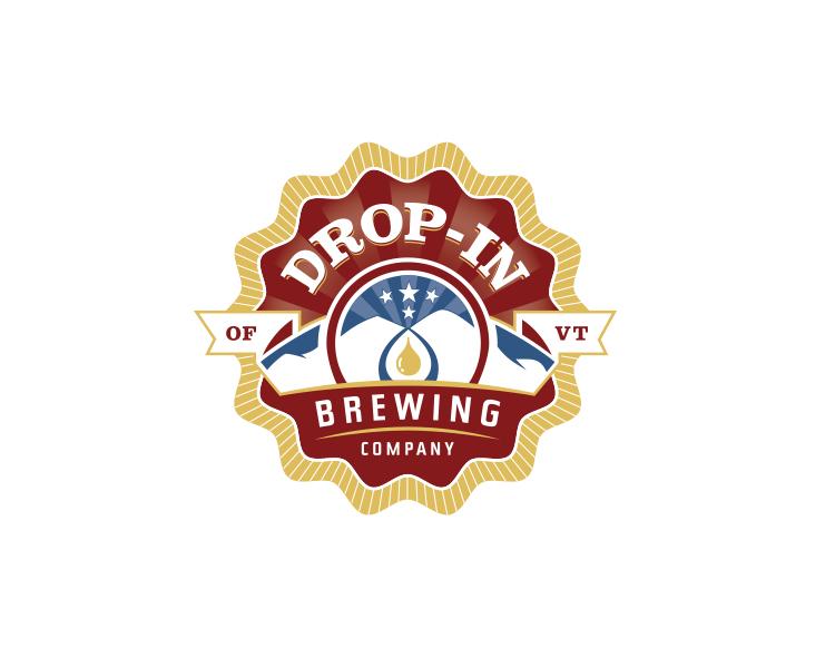 Drop-In Brewing Company Identity