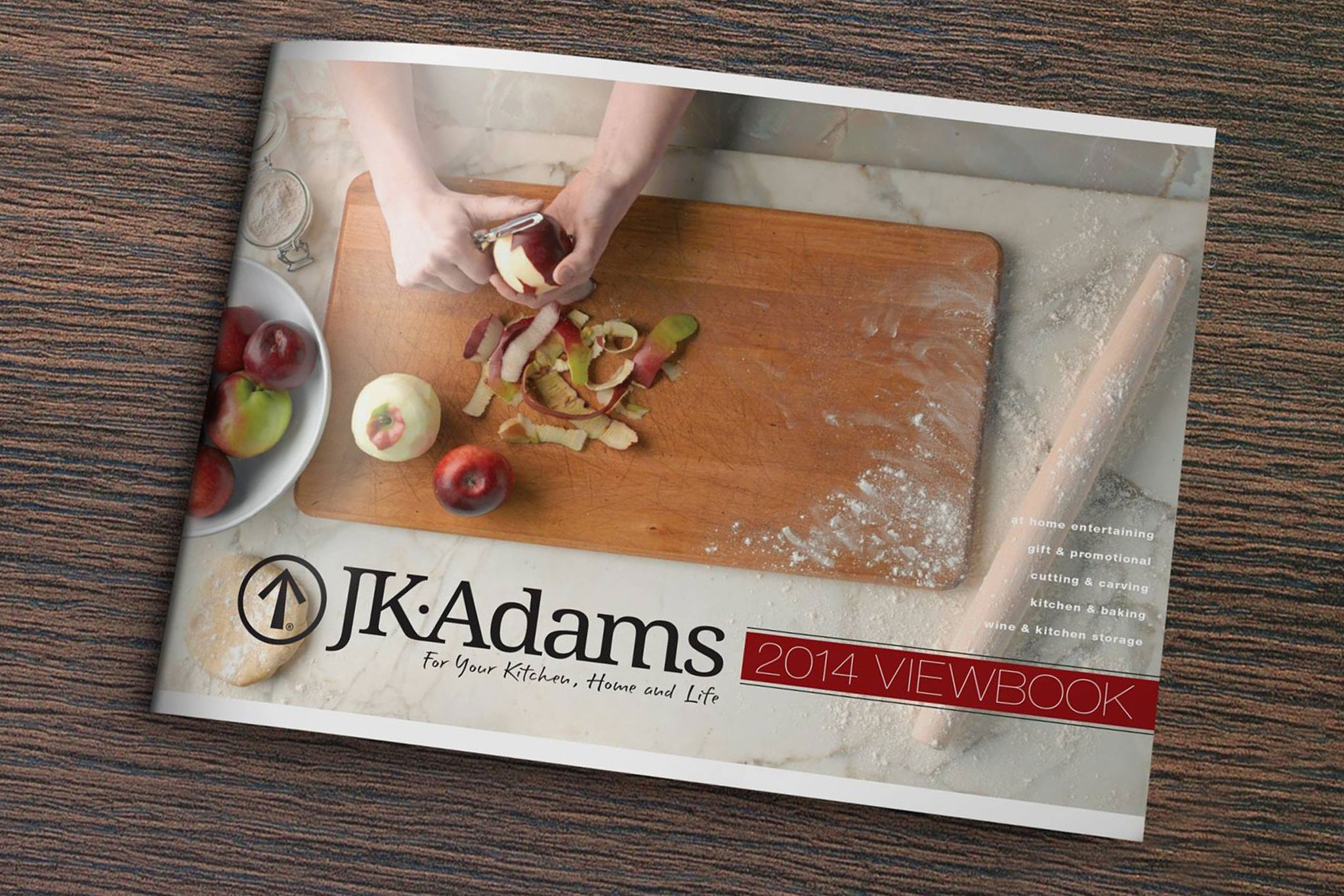 2014 J.K. Adams Product Catalog