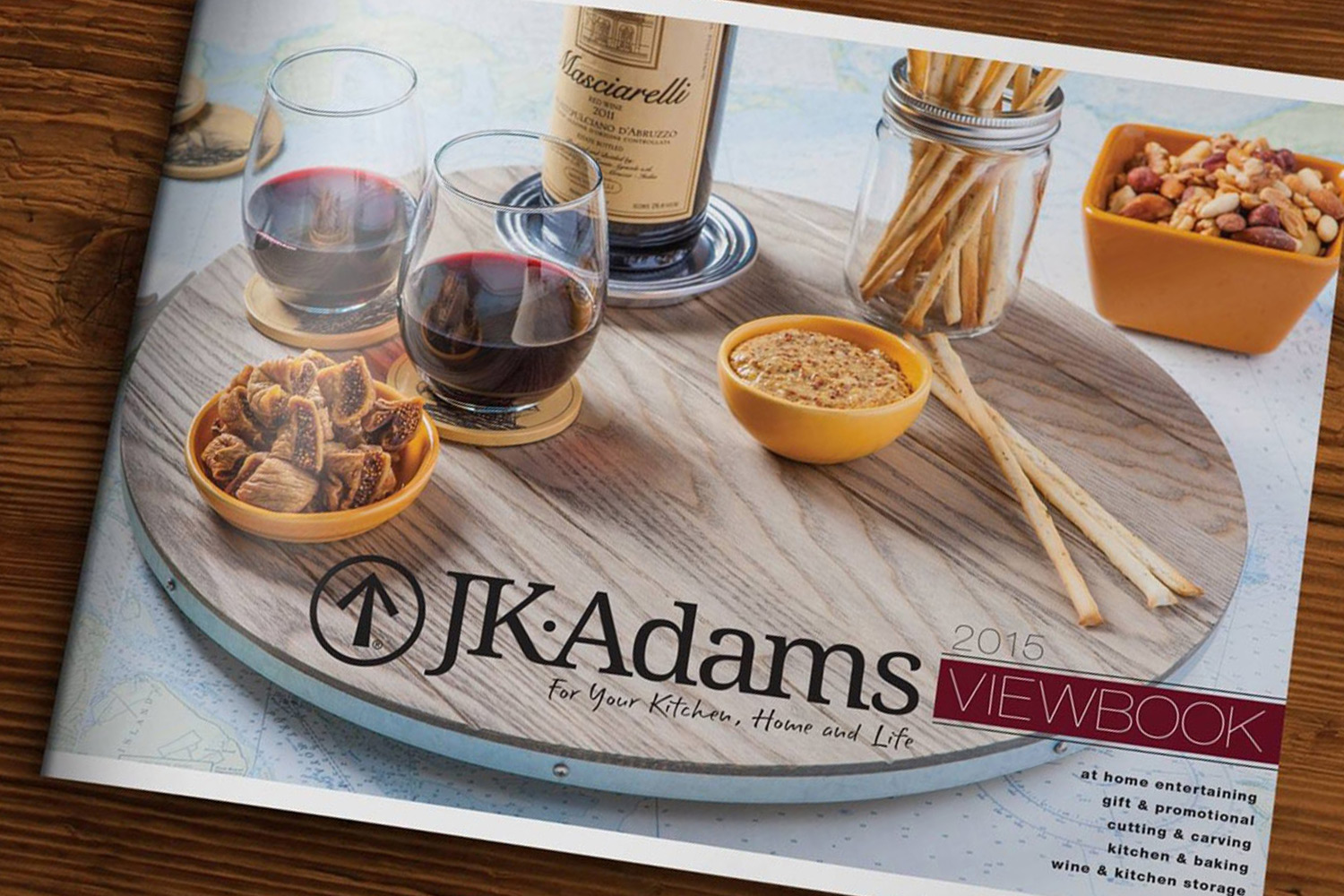 2015 J.K. Adams Catalog Cover