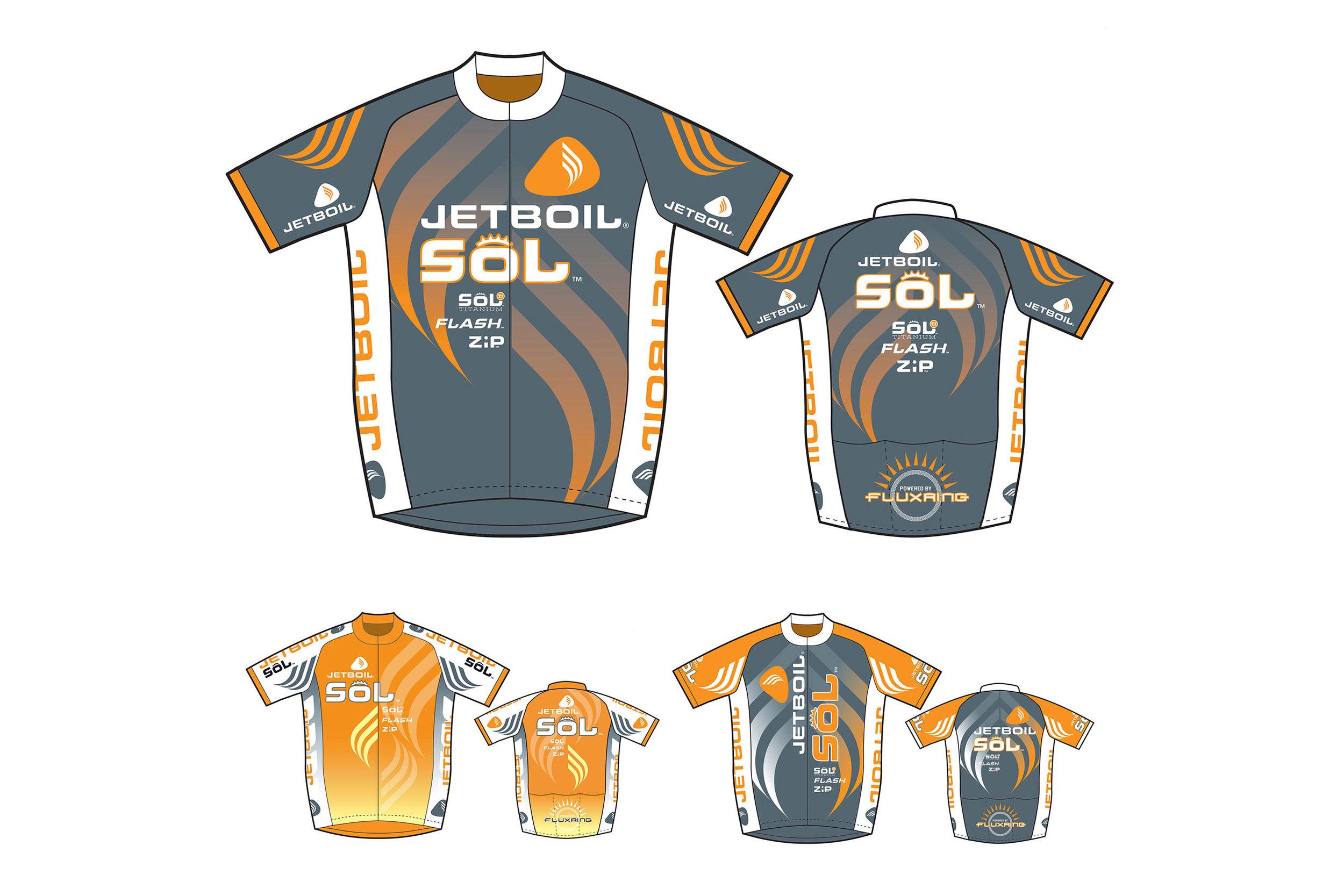 Jetboil Garment Design