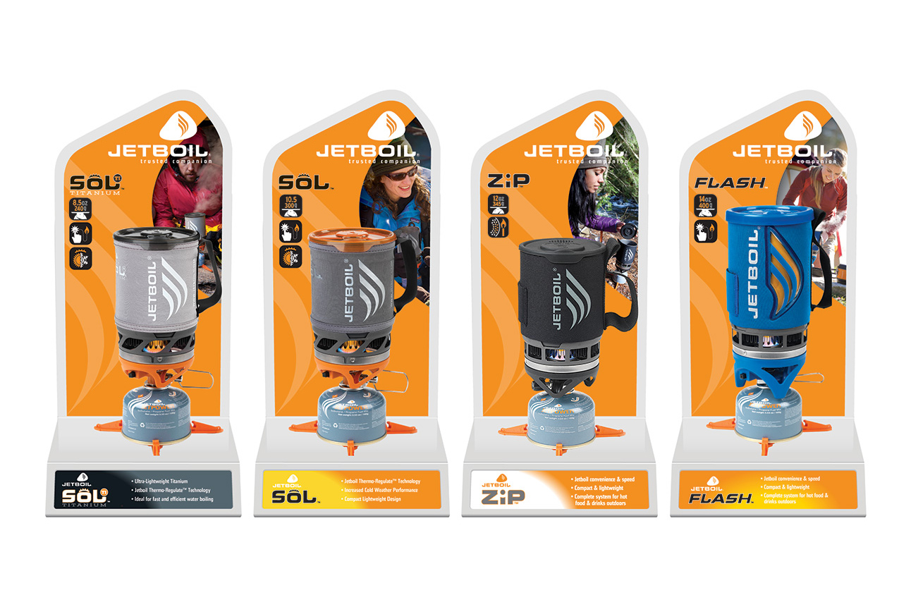 Jetboil Point-of-purchase