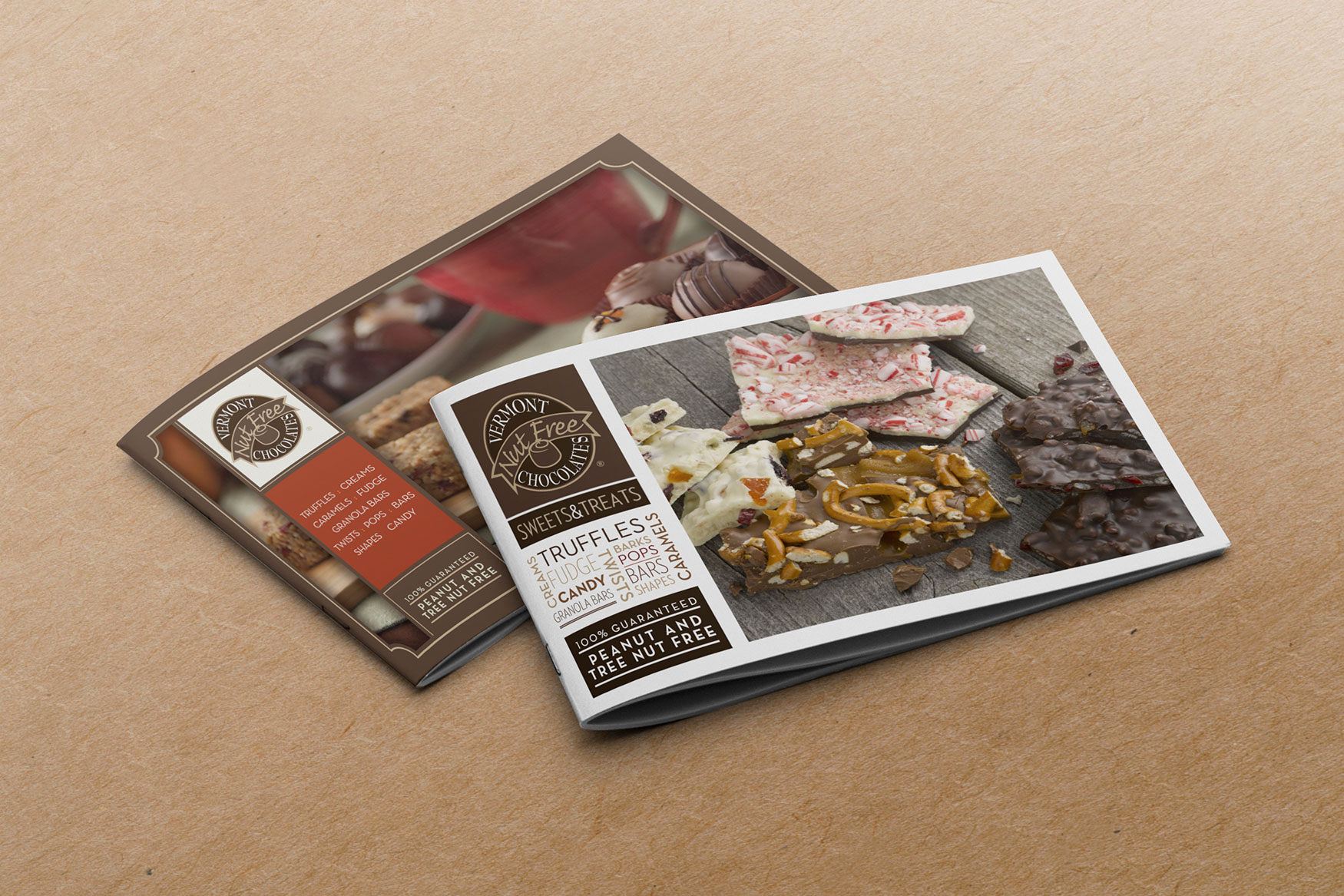 Vermont Nut Free Collateral Design