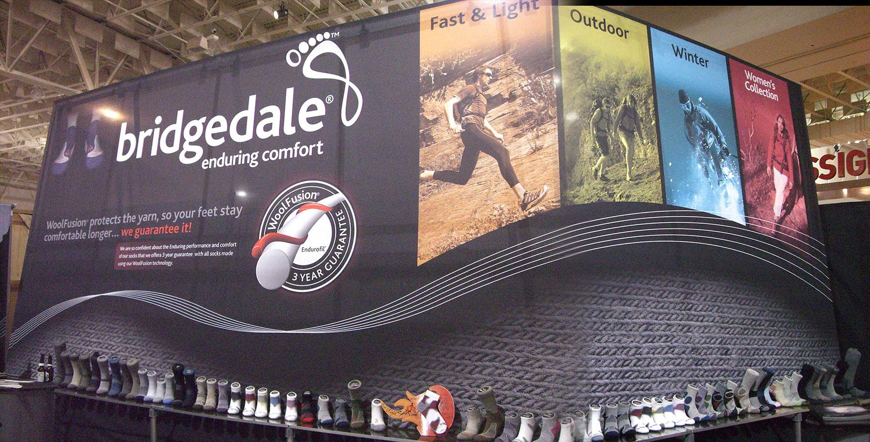 Bridgedale Tradeshow Booth Design