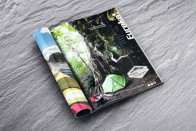 Eureka Tent Trailgating Ads
