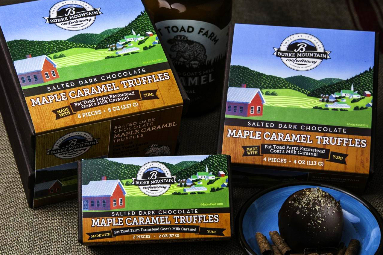Burke Mountain Confectionery Packaging