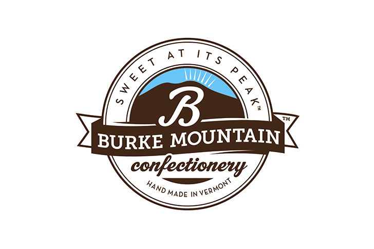 Burke Mountain Confectionary Identity