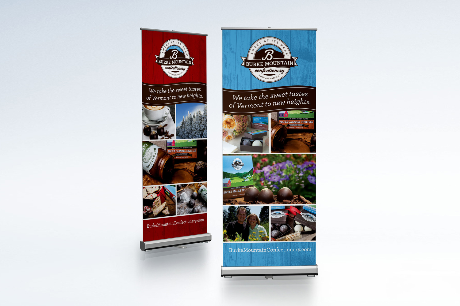Burke Mountain Confectionery Trade Show Design